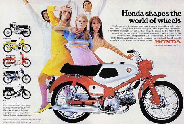 画像: バービー人形もびっくり!アメリカ進出を果たした「ホンダ CA100」。メイクもカブも時代とともに変化!【 歴代カブの時代を振り返ろう】 - A Little Honda