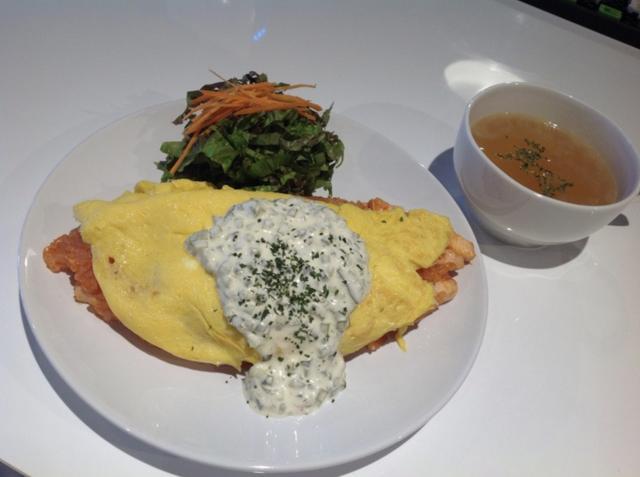 画像: オムライス(ケチャップorタルタル)スープ付き ¥750 speedstar.jp