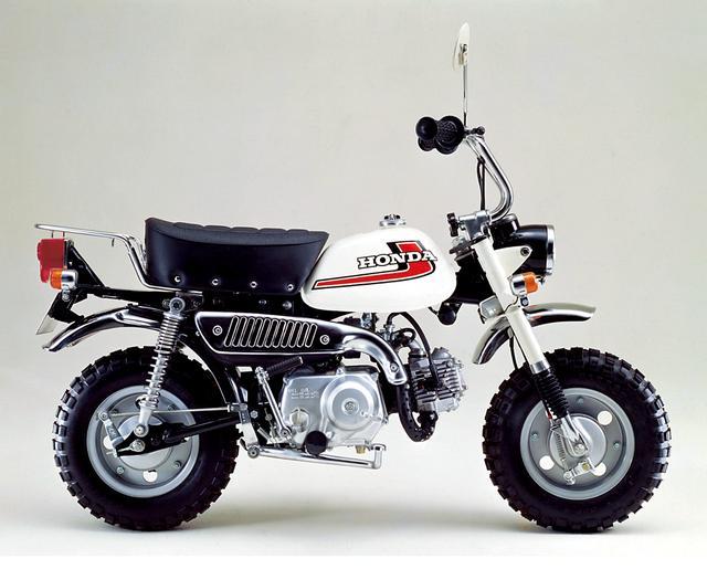 画像: 1975 Z50J-II ●エンジン型式:空冷4ストロークOHC単気筒●最高出力:2.6ps/7,000rpm●最大トルク:0.3㎏-m/5,000rpm●車両重量:58㎏●燃料タンク:4.0L●サスペンション(前・後):テレスコピック・スイングアーム●タイヤサイズ(前後ともに):3.50-8