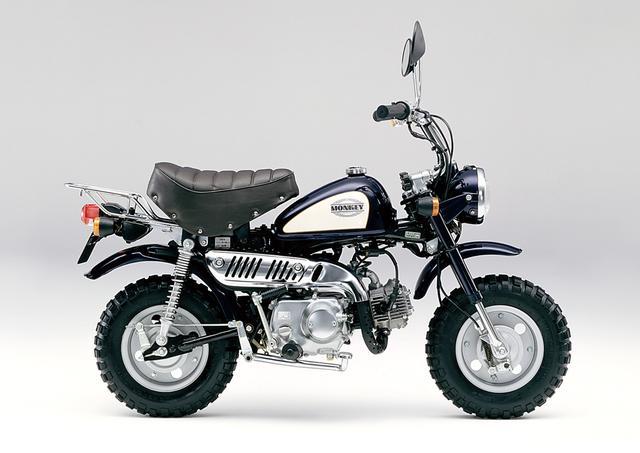 画像: 1992 Z50J ●エンジン型式:空冷4ストロークOHC単気筒●最高出力:3.1ps/7,500rpm●最大トルク:0.32㎏-m/6,000rpm●車両重量:63㎏●燃料タンク:4.5L●サスペンション(前・後):テレスコピック・スイングアーム●タイヤサイズ(前後ともに):3.50-8●価格:16万9,000円