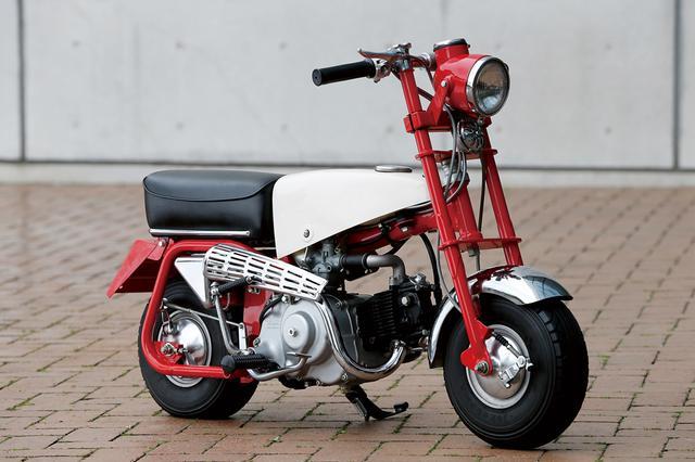 画像: 1961 Z100 ●エンジン型式:空冷4ストロークOHV単気筒●フレーム型式:バックボーンスチールパイプ●サスペンション(前・後):リジッド●タイヤサイズ(前後ともに):3.50-5