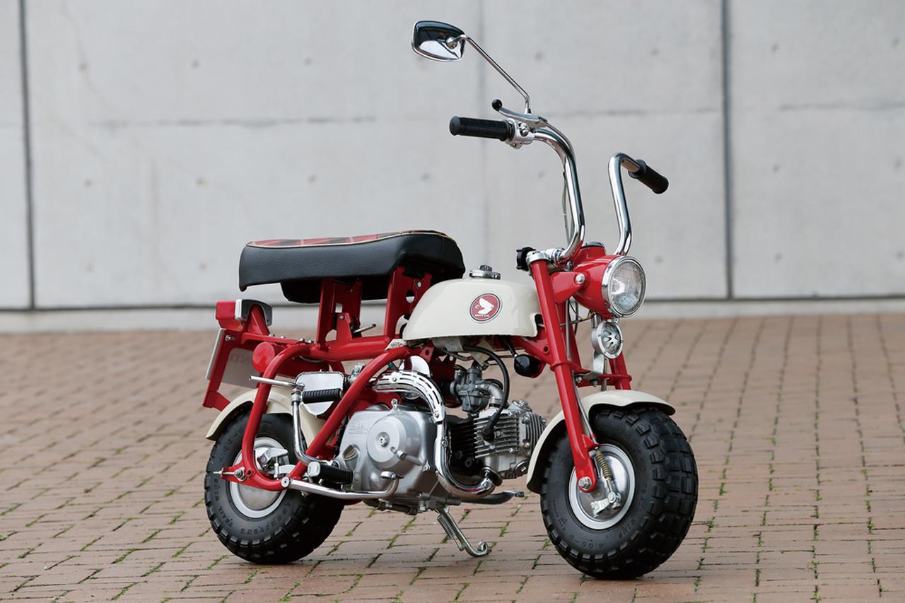 画像: 1967 Z50M ●エンジン型式:空冷4ストロークOHC単気筒●最高出力:2.5ps/6,000rpm●最大トルク:0.31㎏-m/5,500rpm●乾燥重量:47.5㎏●サスペンション(前後ともに):リジッド●タイヤサイズ(前後ともに):4.00-5●価格:6万3,000円