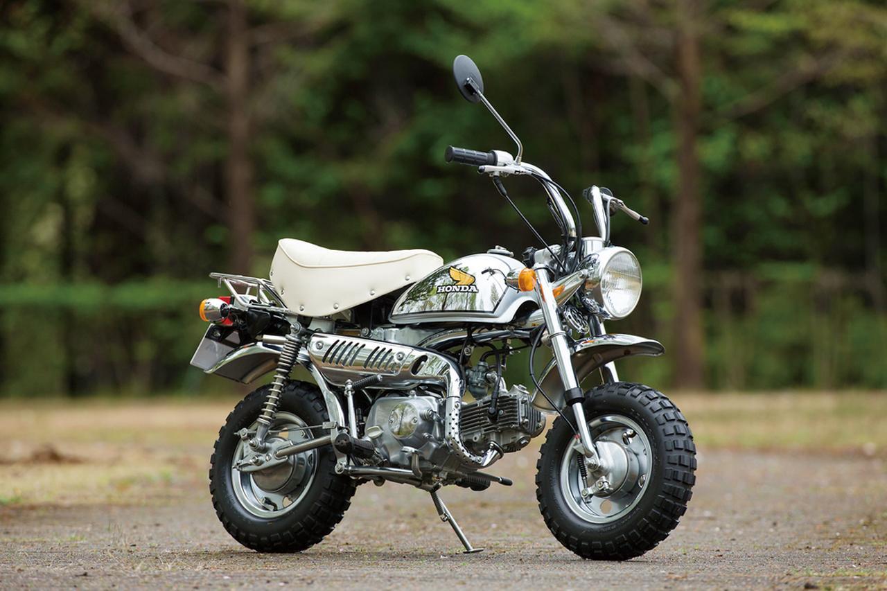 画像: 1979 Z50J Limited ●エンジン型式:空冷4ストロークOHC単気筒●最高出力:2.6ps/7,000rpm●最大トルク:0.3㎏-m/5,000rpm●車両重量:63㎏●燃料タンク:5.0L●サスペンション(前・後):テレスコピック・スイングアーム●タイヤサイズ(前後ともに):3.50-8●価格:13万円