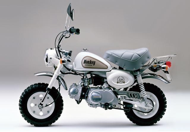 画像: 1988 Z50J White Special ●エンジン型式:空冷4ストロークOHC単気筒●最高出力:3.1ps/7,500rpm●最大トルク:0.32㎏-m/6,000rpm●車両重量:63㎏●燃料タンク:5.0L●サスペンション(前・後):テレスコピック・スイングアーム●タイヤサイズ(前後ともに):3.50-8●価格:12万2,000円