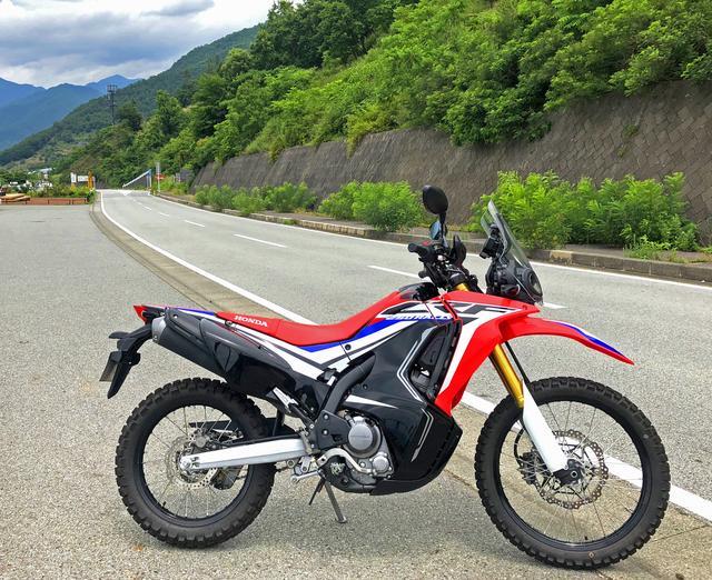 画像3: ベース車両のCRF250Lはこんなバイクです