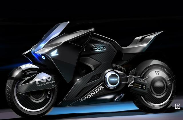 画像: ベースはHonda NM4。映画『ゴースト・イン・ザ・シェル』の少佐バイクがかっこいい! - A Little Honda