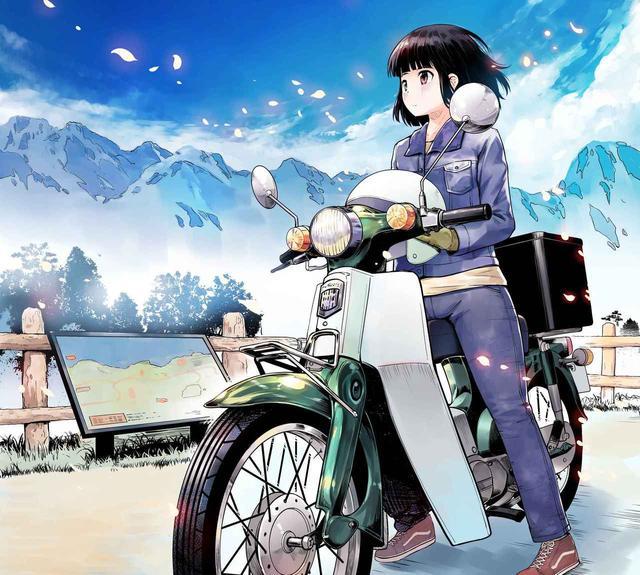 画像: スーパーカブと女子の物語。漫画となって無料配信中! - A Little Honda