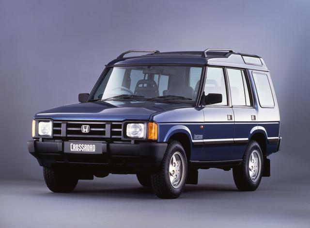 画像: 初代クロスロード。ランドローバー社のイギリス ソリハル工場で生産され、日本へ輸入されていたホンダ車だ。