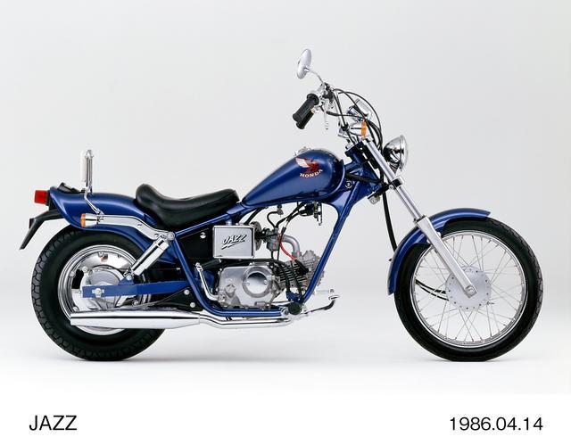 画像: ホンダの50ccバイク「ジャズ」。