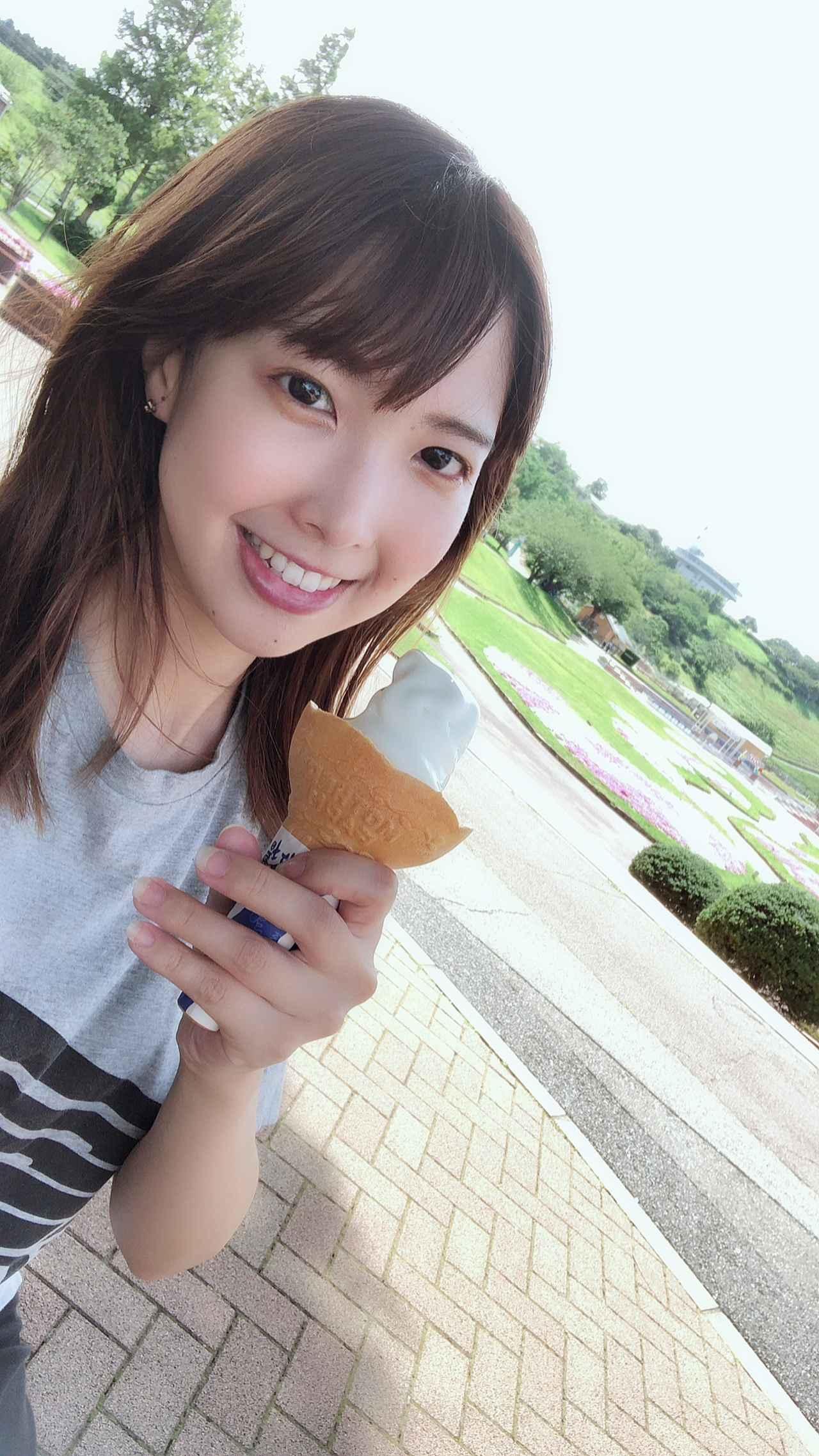 画像6: 西田望見の「休日おすそわけ」/ソフトクリーム編  『ソフトクリームがたべたいっっっ…!』