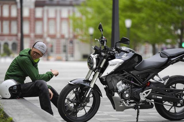 画像: とにかくデカいぞCB125R!  125ccってこんなに偉そうだっけ? 【ホンダオールすごろく/第2回】 - A Little Honda