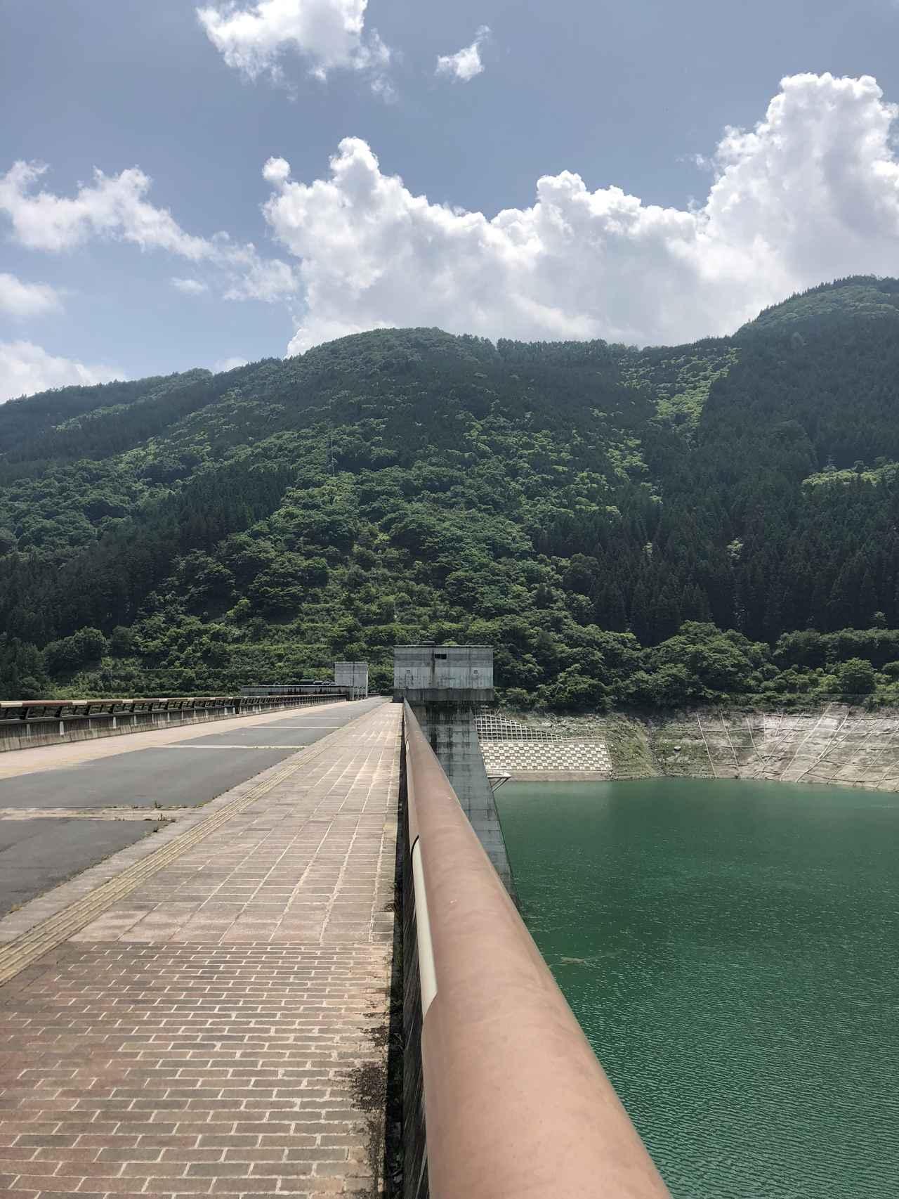 画像1: 滝沢ダムに到着したよ!