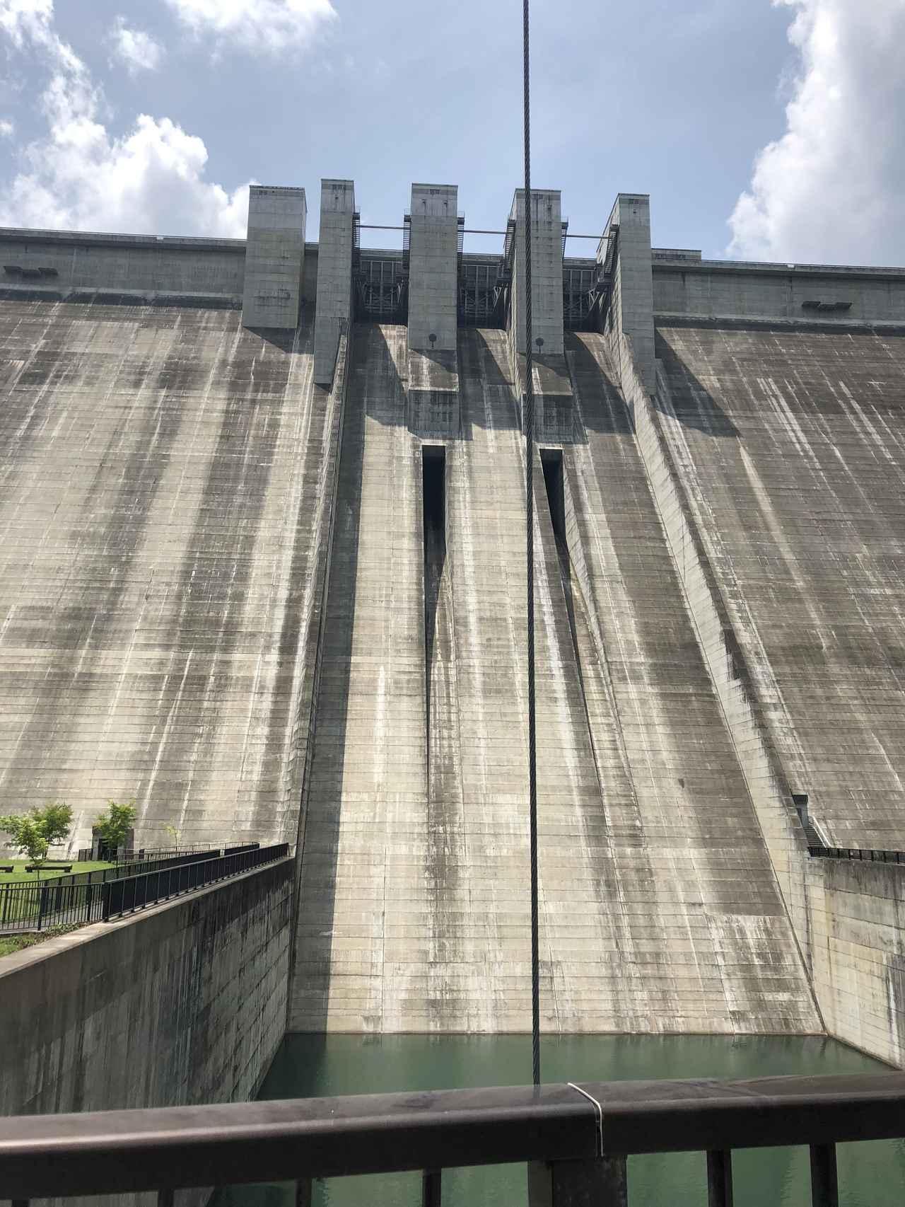 画像4: 滝沢ダムに到着したよ!