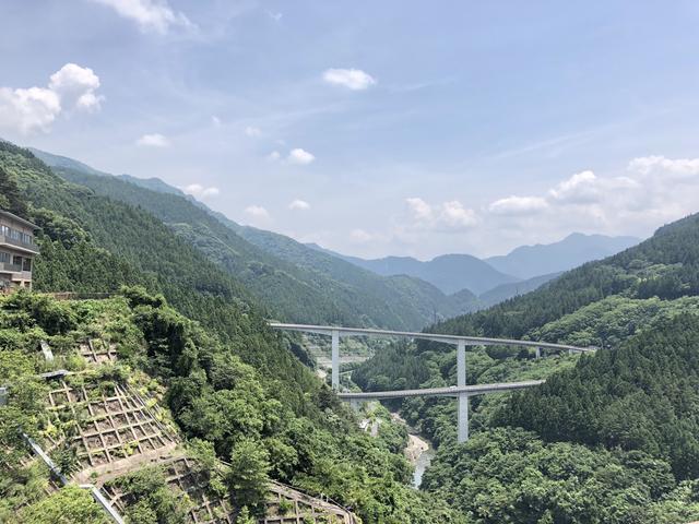 画像2: 滝沢ダムに到着したよ!