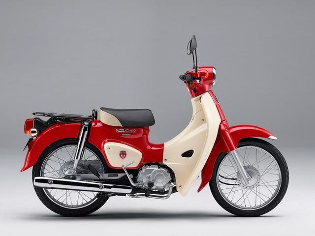 画像: スーパーカブ110・60周年アニバーサリー(マグナレッド) www.honda.co.jp