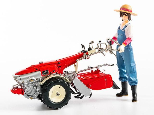 画像: 耕耘機「F90」が農ガールみのりちゃんと共にプラモデルに! - A Little Honda