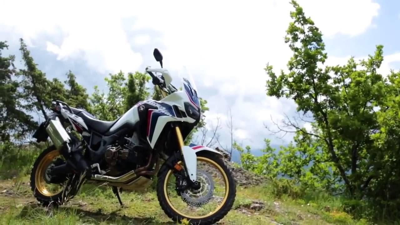 画像: Honda CRF1000L Africa Twin: Following in the tracks of the CRF450R. www.youtube.com