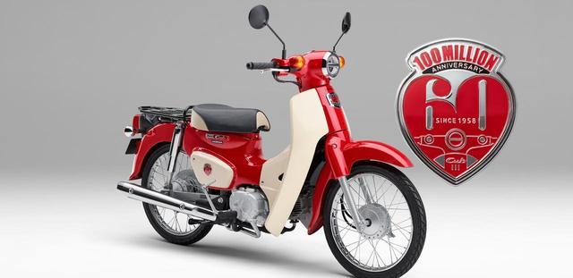 画像: HONDA公式サイトより/スーパーカブ60周年アニバーサリーモデル www.honda.co.jp