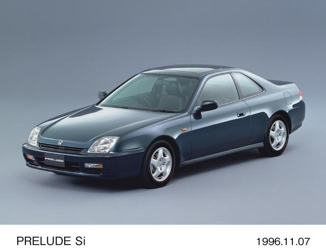画像: 今回のトリは1996年に登場した5代目プレリュードである。
