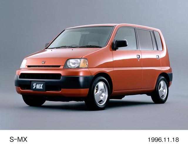 画像: 同じく1996年にクリエイティブムーバーとして登場したのがS-MXである。