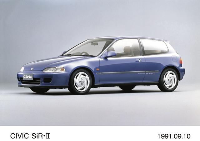 画像2: 箱根に走りに行くならスポーツシビックSi-RⅡ(91~95)とNSX(90~06)があればいいな。