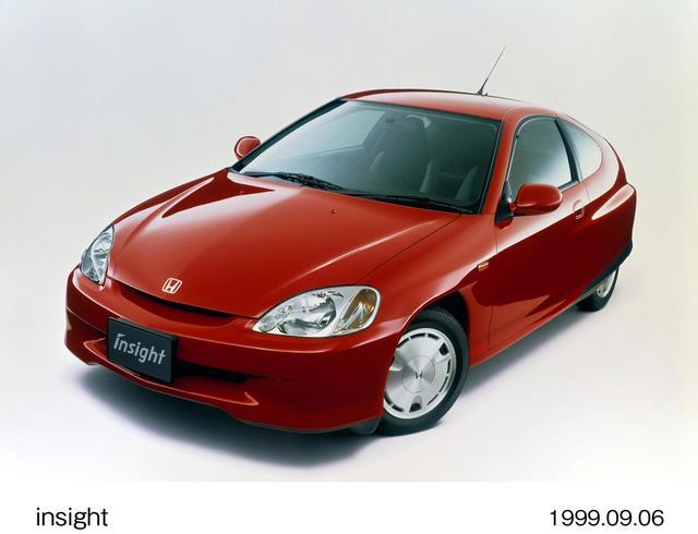 画像: 二人乗りの不便さはあるけど初代インサイト(99~2006)も街乗りにいい。