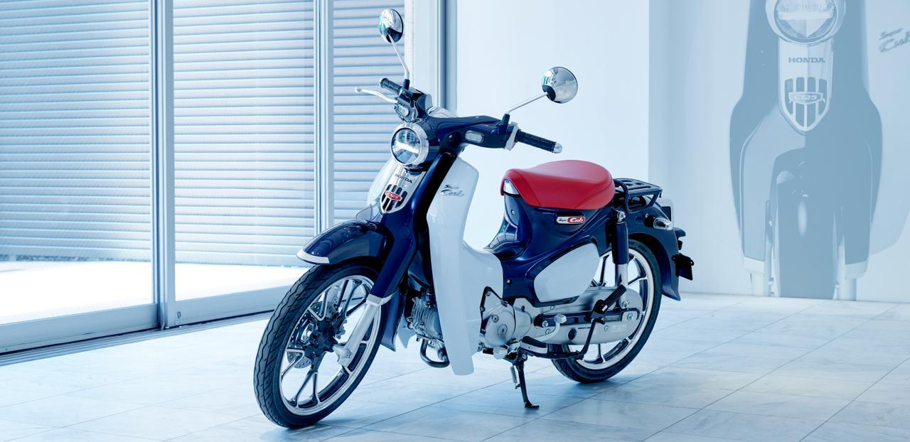 画像: HONDA公式サイトより/スーパーカブC125/税込 399,600円 www.honda.co.jp