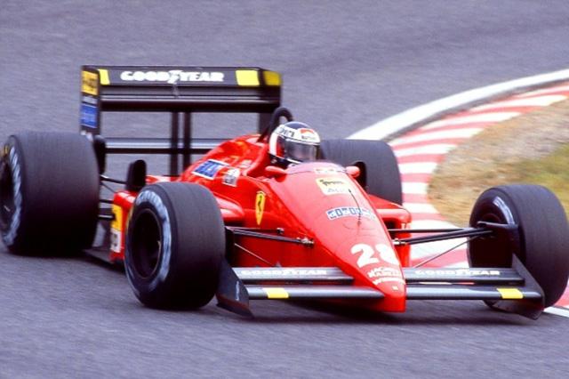 画像: 鈴鹿初のF1日本GPウイナーとなったマシンとドライバーをご記憶ですか? 鈴鹿初のF1は、フェラーリ F187を駆るゲルハルト・ベルガーが、ポール・トゥ・ウインを決めたレースでした。 www.suzukacircuit.jp