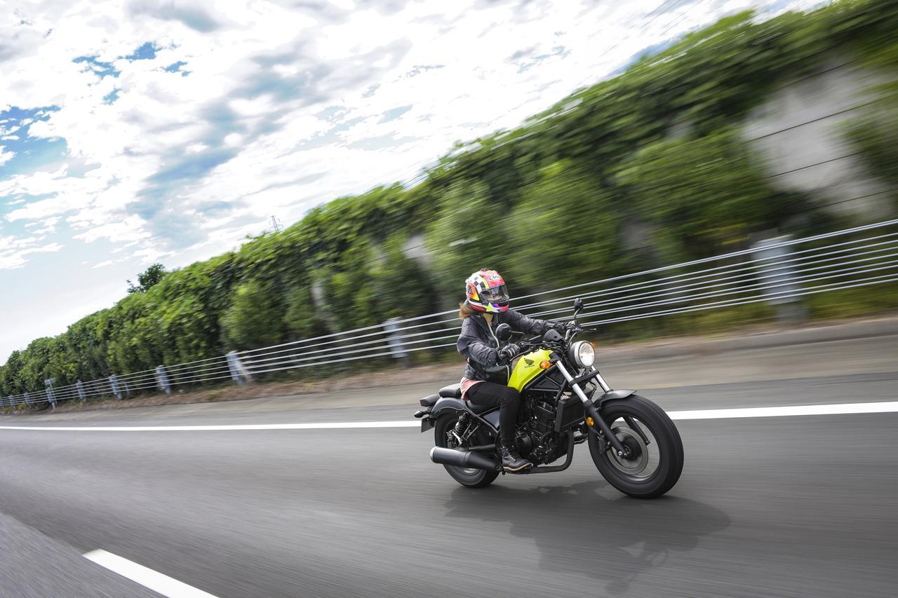 画像1: レブル250の高速道路…!