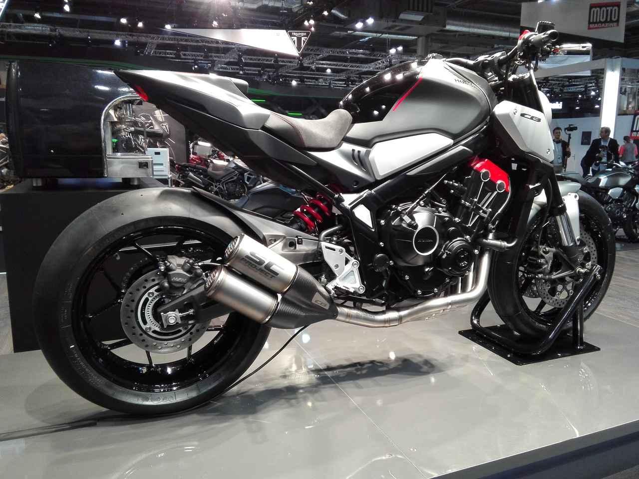 画像2: 【ホンダ公式モデル編】新型CB650Rのコンセプトモデルをお披露目