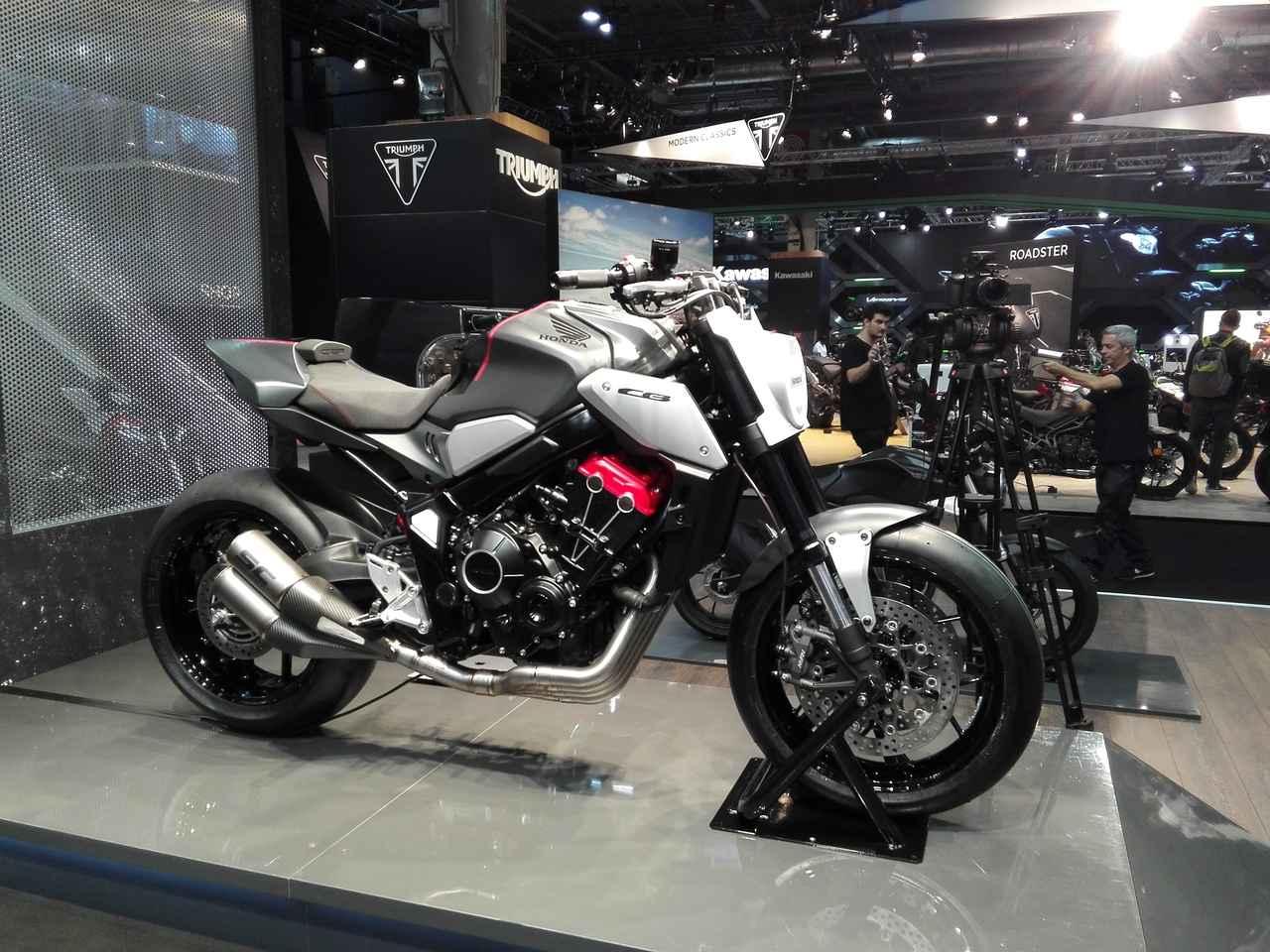 画像1: 【ホンダ公式モデル編】新型CB650Rのコンセプトモデルをお披露目