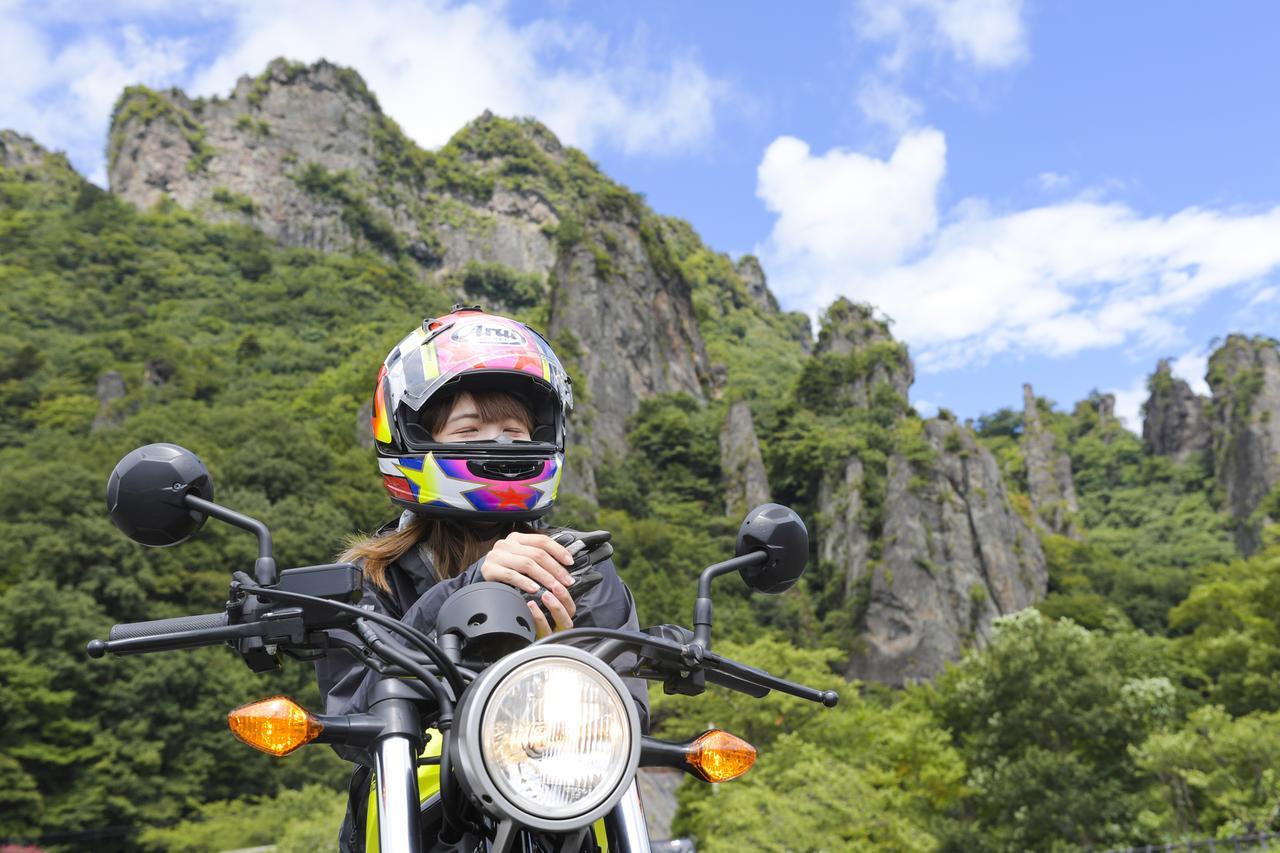 画像1: 妙義山に到着ーーー!!