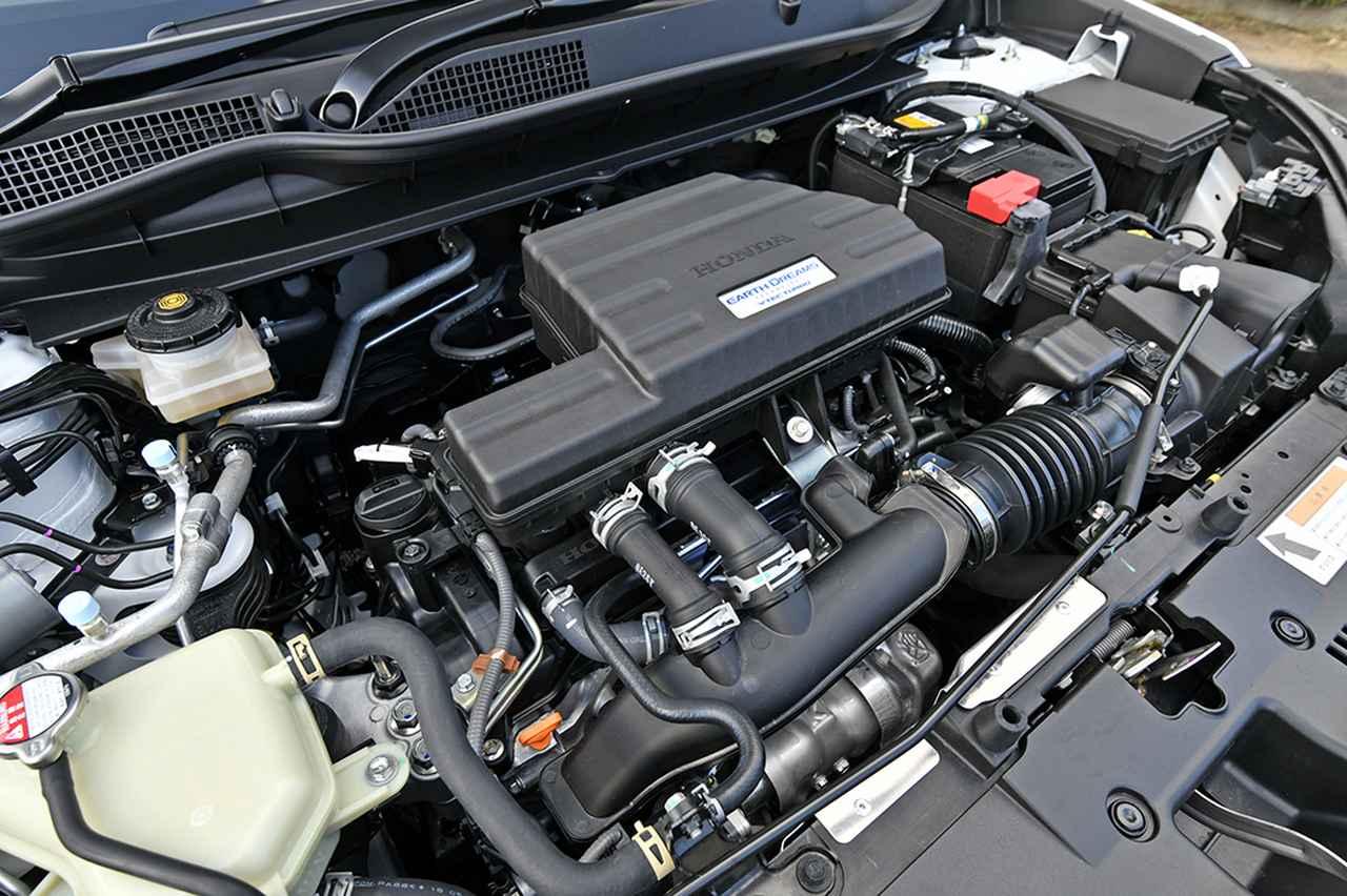 画像: ホンダのL15B型1.5L職列4気筒DOHCターボエンジン。最高出力190ps、最大トルク240Nmを発生する。