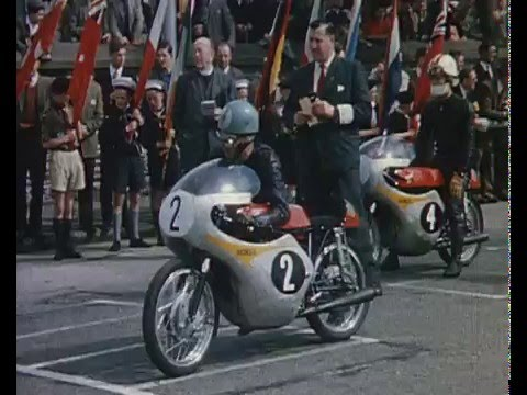 画像: HONDA - Isle of Man TT - Golden Years - Jim Redman - Mike Hailwood youtu.be