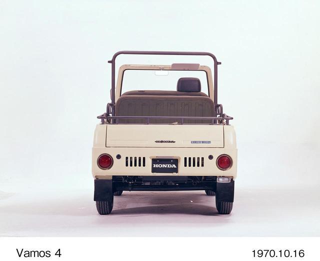 画像5: ユニークなオープン軽トラック、それがバモスホンダなのだ。【ホンダ偏愛主義vol.21】