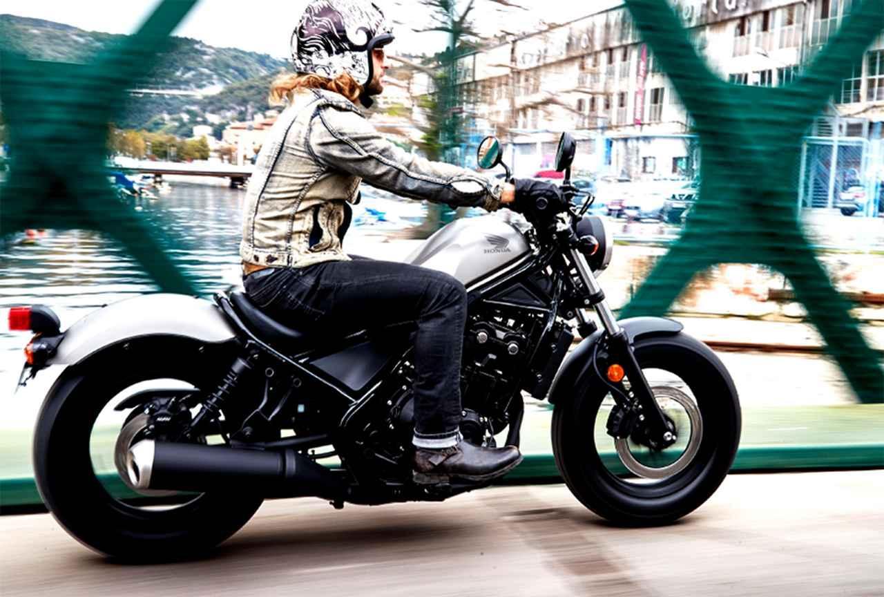 画像: HONDA公式サイトより※写真は海外仕様車  Rebel500 www.honda.co.jp