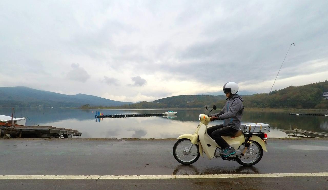 画像2: 10月中旬の山中湖。バス釣りは厳しいか?