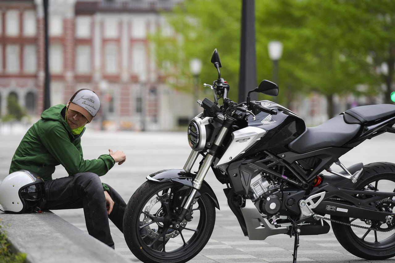 画像: A Little!Honda /とにかくデカいぞCB125R! 125ccってこんなに偉そうだっけ?【ホンダオールすごろく/第2回】 honda.lrnc.cc