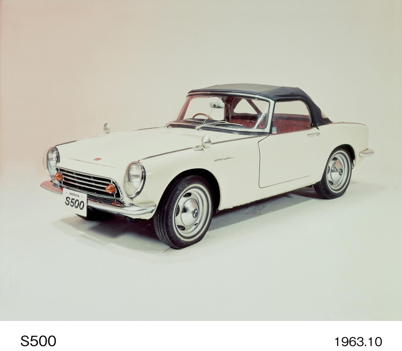 画像1: 最初のホンダの4輪乗用車はずばり「S500」!