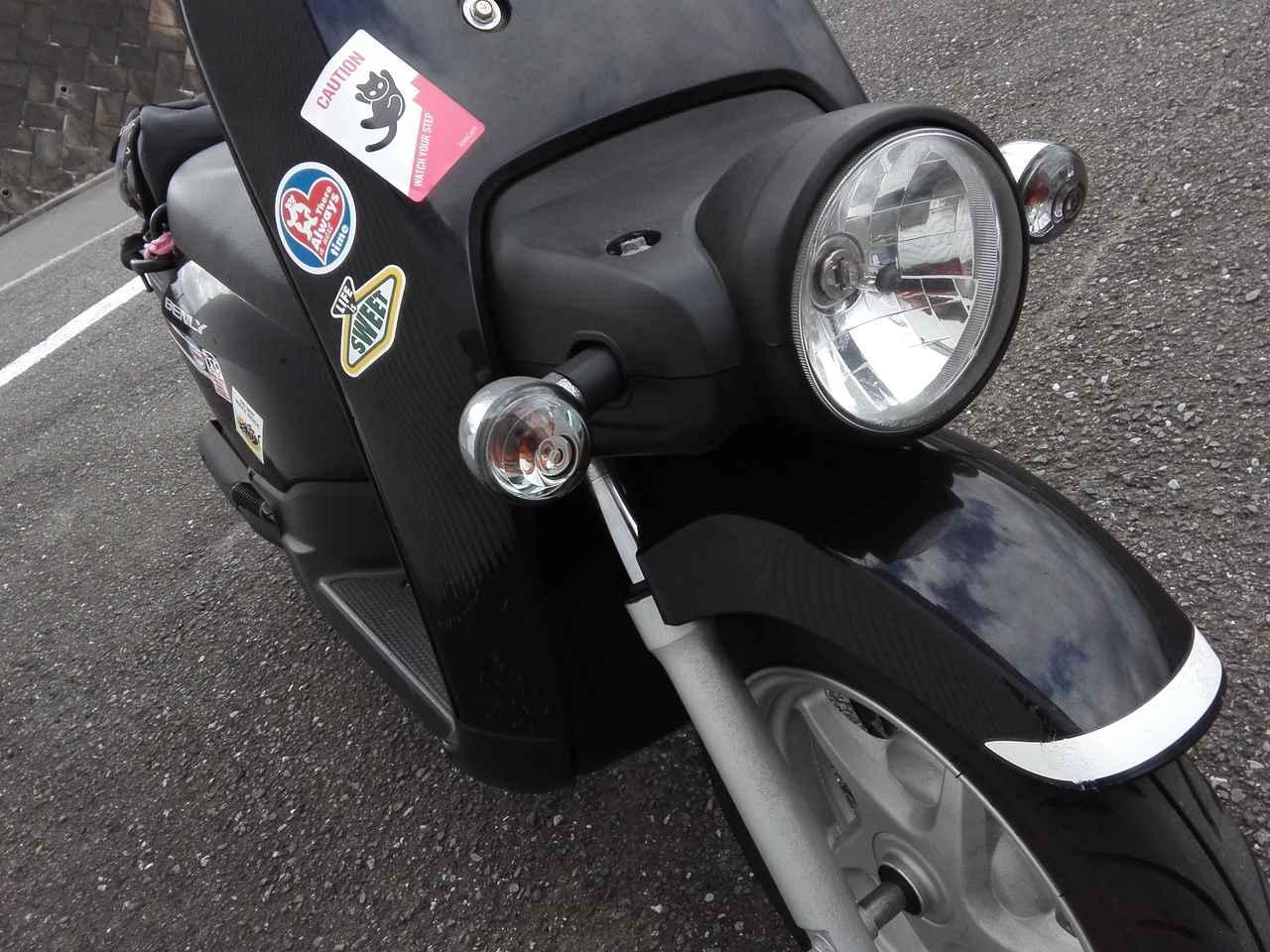 画像: 丸いヘッドランプがバイク選びの必須要件でした。それにしても確かに最近の原付はみんな「仮面ライダー」的。