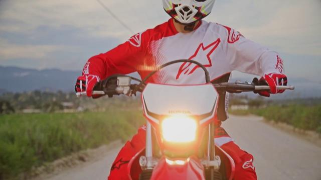 画像: Honda CRF 250 F 2019 youtu.be