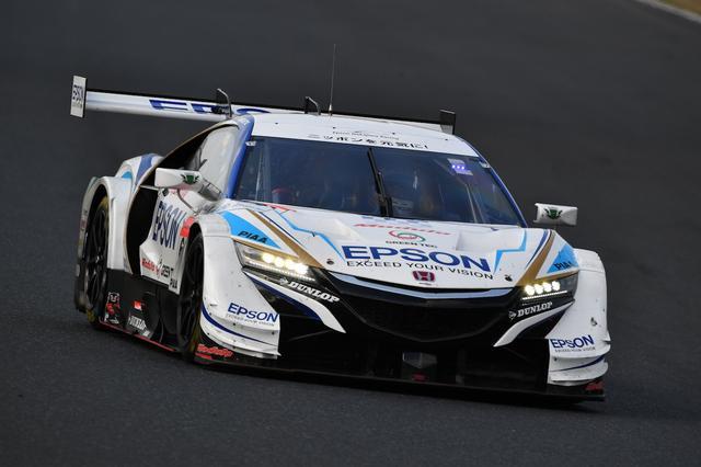画像: 4Epson Modulo NSX-GTベルトラン・バゲット/松浦孝亮