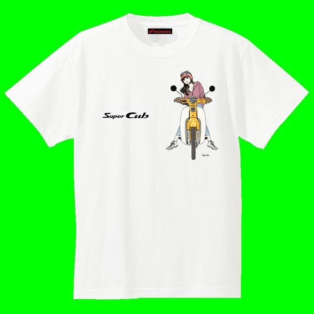 画像2: スーパーカブ×美少女Tシャツ!?どれがいい?まだまだ盛り上がる60周年!