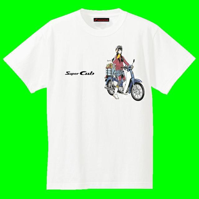 画像3: スーパーカブ×美少女Tシャツ!?どれがいい?まだまだ盛り上がる60周年!