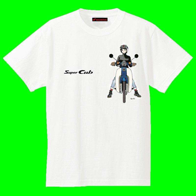 画像1: スーパーカブ×美少女Tシャツ!?どれがいい?まだまだ盛り上がる60周年!
