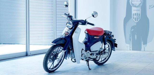 画像: HONDA公式サイトより/ホンダスーパーカブC125/税込399,600円 www.honda.co.jp