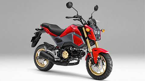 画像: Honda公式/GROM 車種カタログ