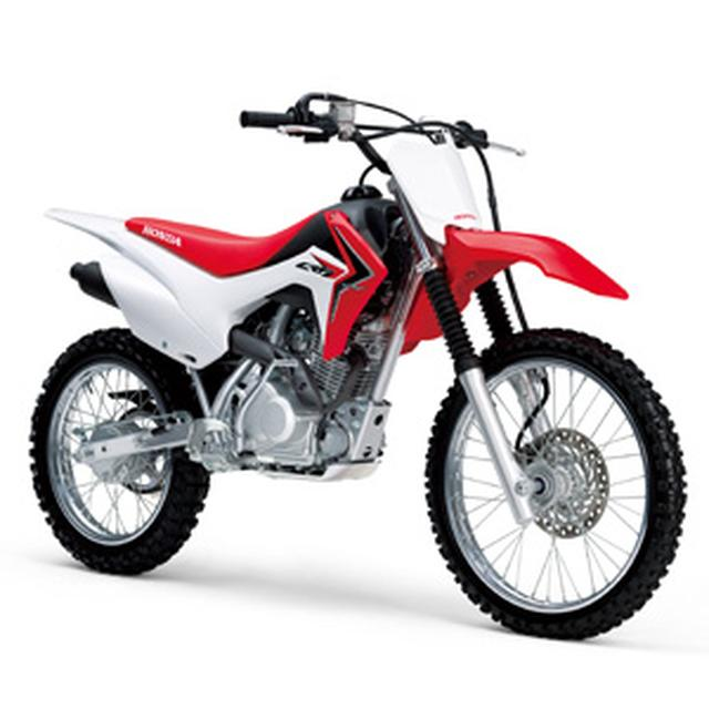 画像: Honda CRF125F 公式情報ページ