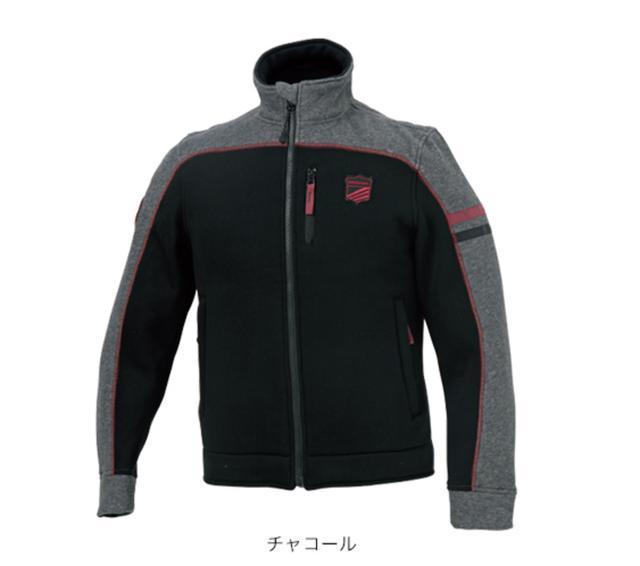 画像1: Hondaライディングギア/スウェットトラックジャケット/チャコール ¥9,900 +税(Size:S,M,L,LL) ¥10,400 +税(Size:3L)