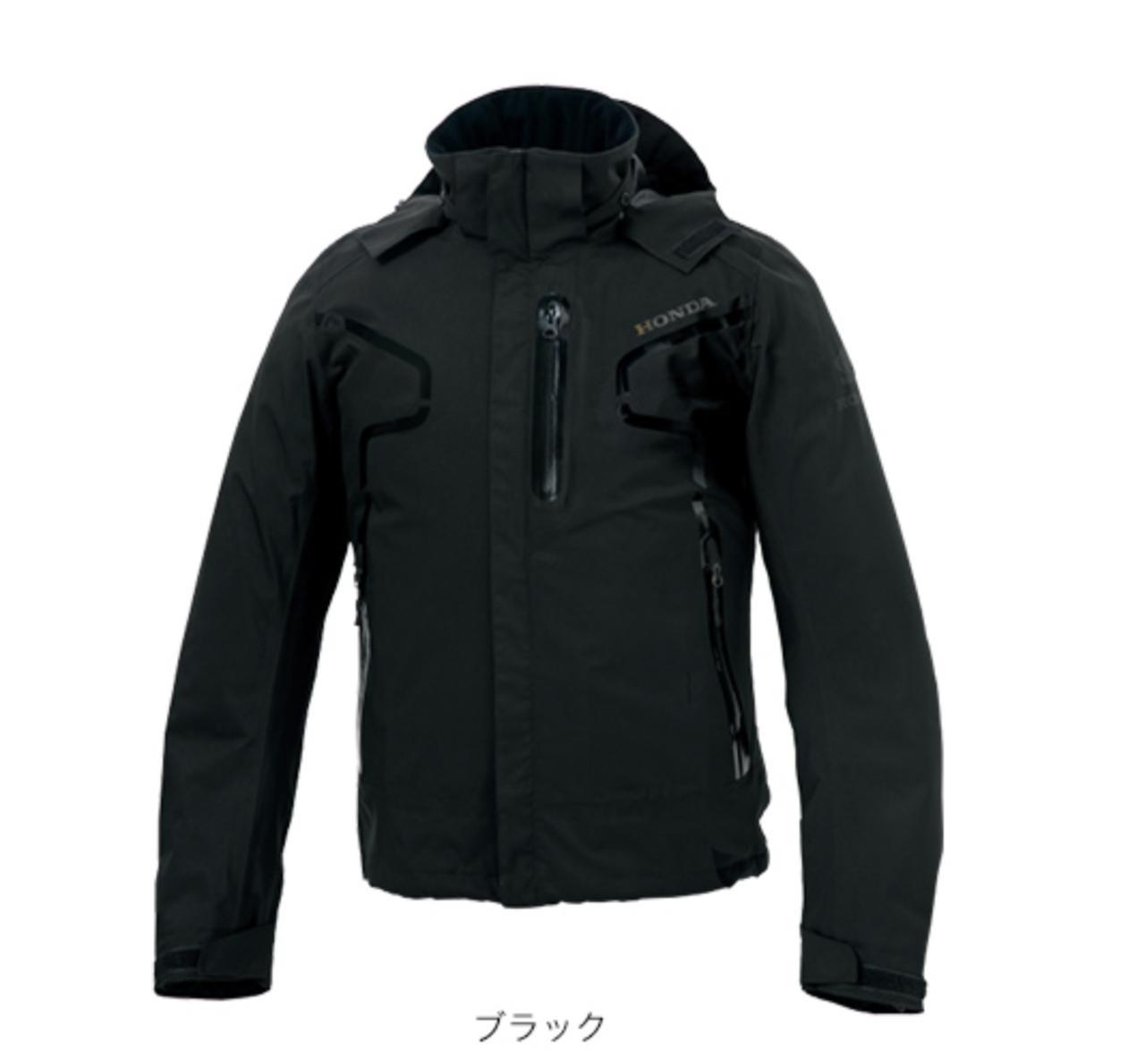 画像: Hondaライディングギア/ストリートパーカー/ブラック ¥23,000 +税(Size:S,M,L,LL) ¥24,000 +税(Size:3L,4L) www.honda.co.jp